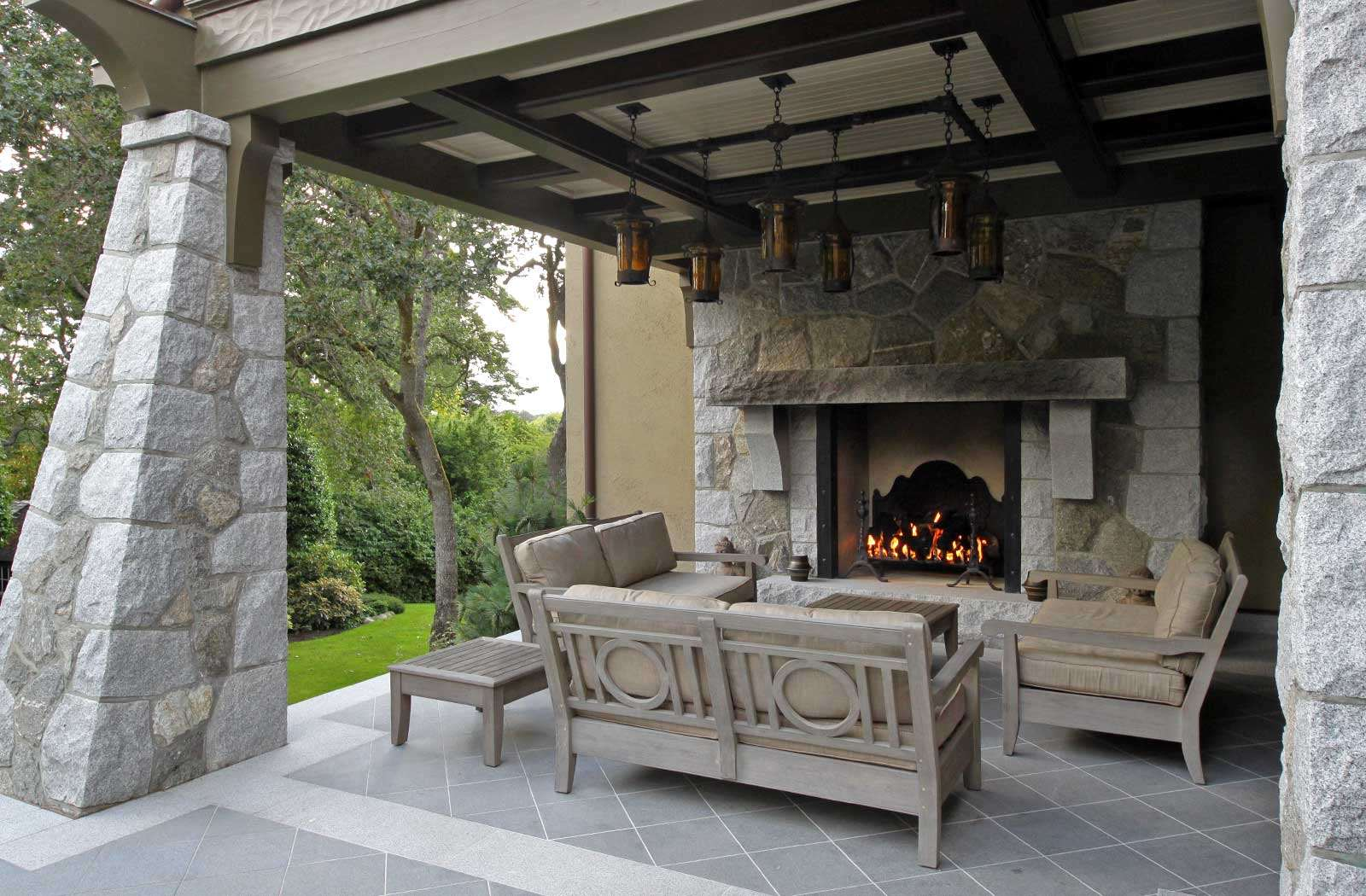 build with pictures fireplaces outdoor fireplace wikihow how chimney step to