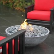 Flintstones Masonry | Fire Bowl Feature