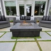 Flintstones Masonry | Outdoor Living Fire Feature