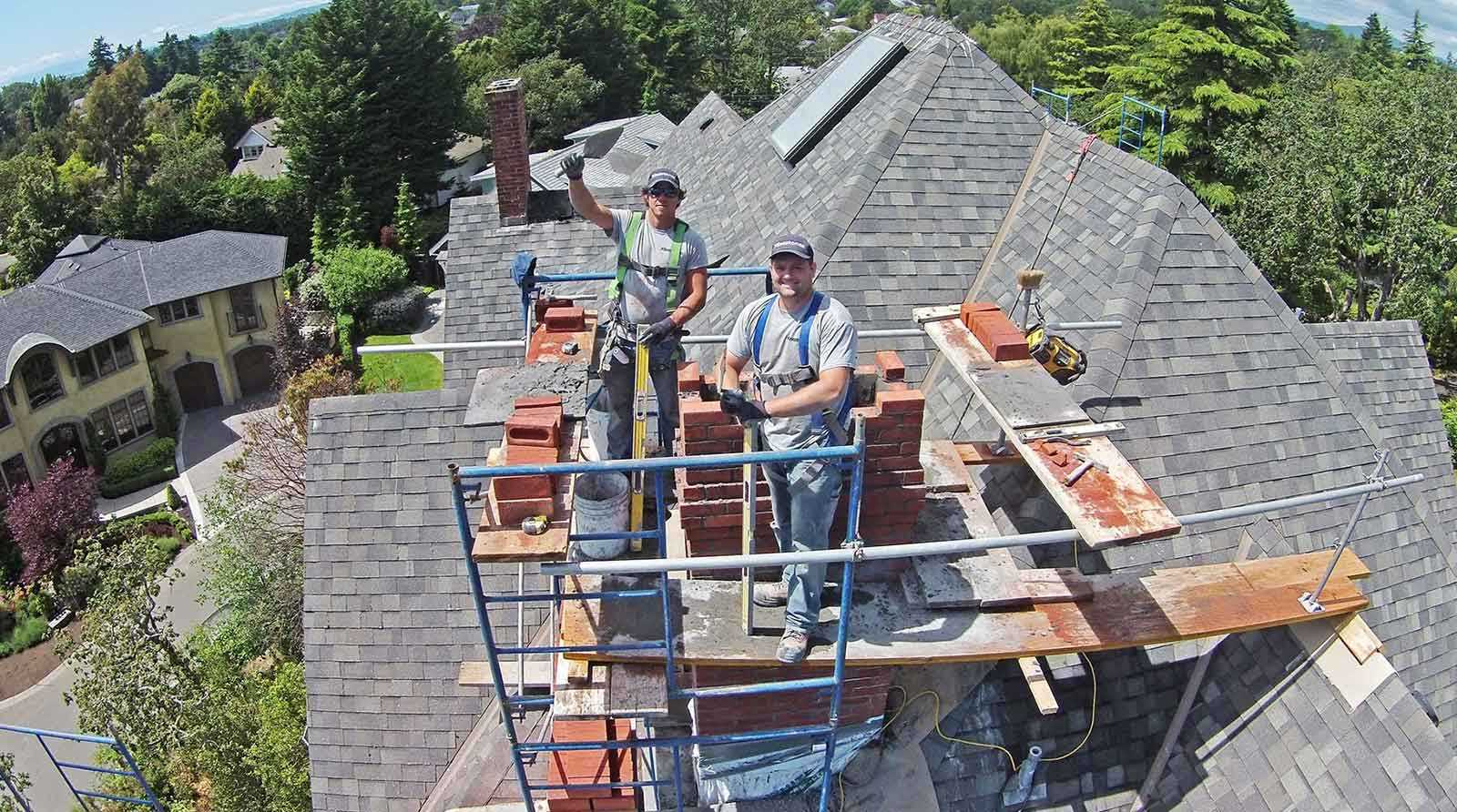 Flintstones Masonry | Safety Harness Chimney