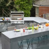 Flintstones Masonry | Wildflower Kitchen Serving Bar