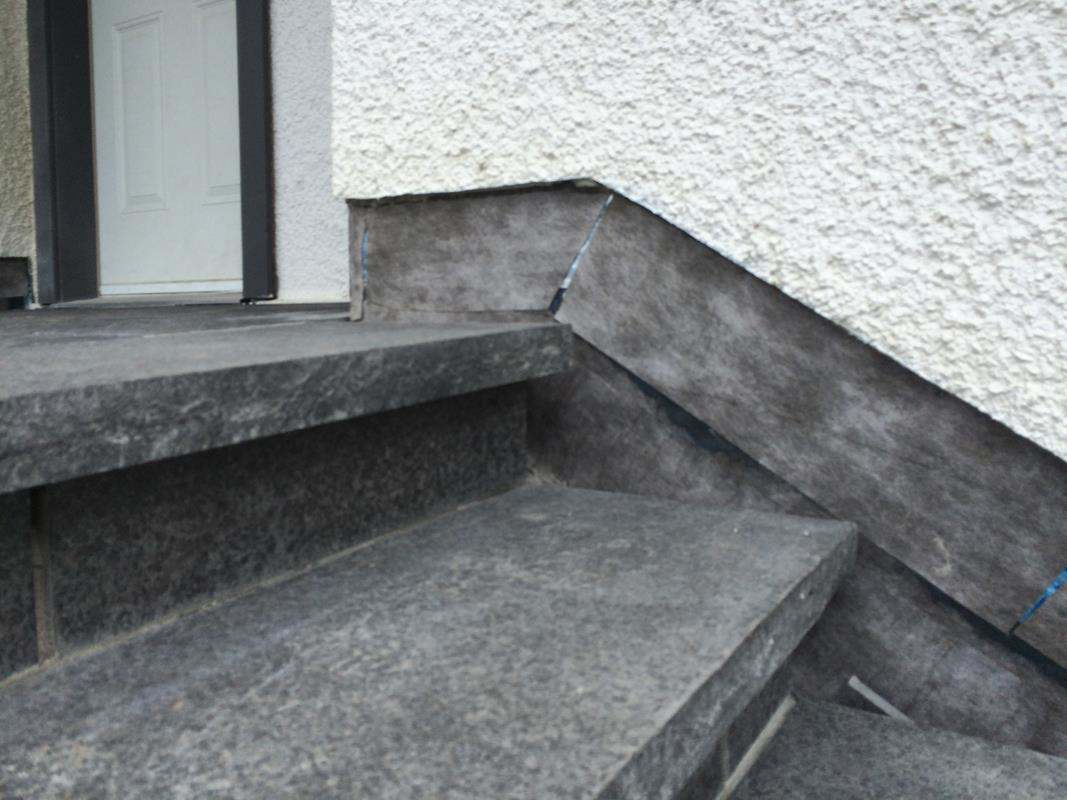 stone steps Flintstone Masonry