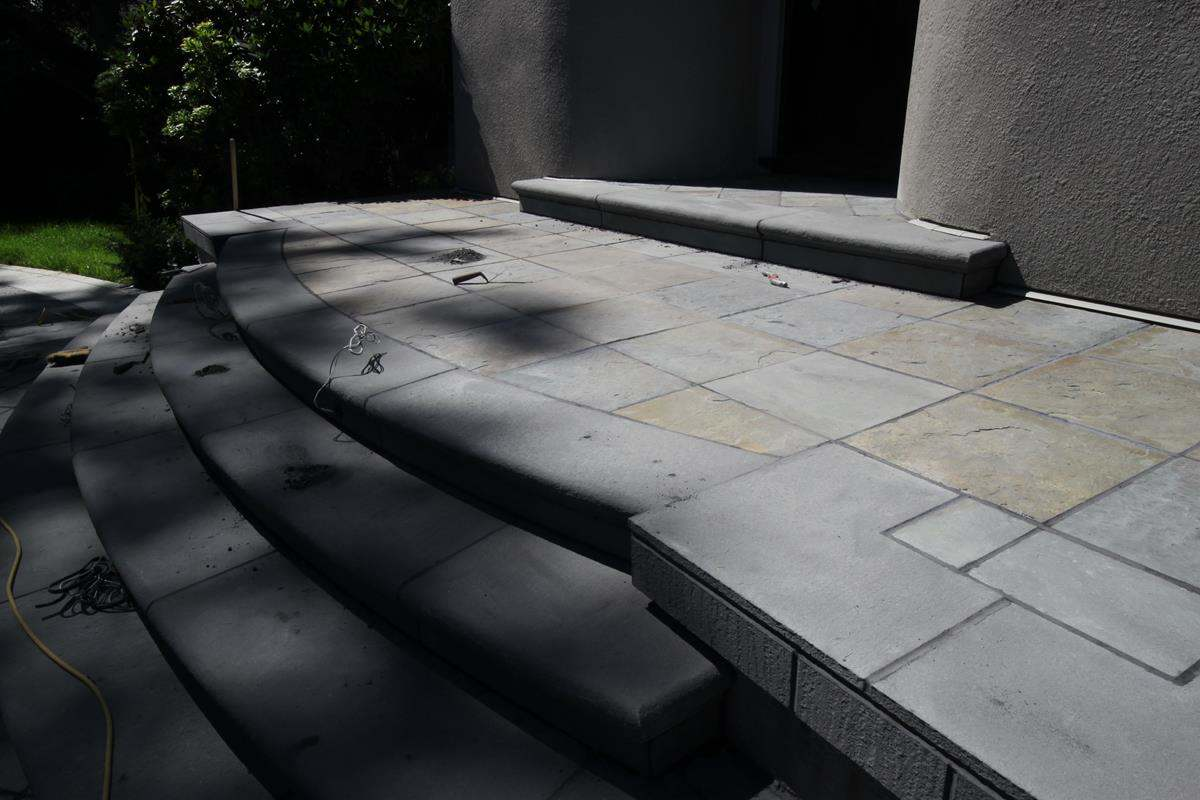 patio Flintstone Masonry